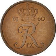 Danemark, Frederik IX, 5 Öre, 1960, Copenhagen, TB+, Bronze, KM:848.1 - Dänemark