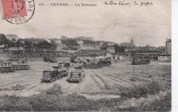 53 - Nevers - La Rotonde ( Gare Chemin De Fer Locomotive ) - Nevers