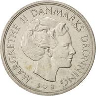 Danemark, Margrethe II, Krone, 1977, Copenhagen, TTB, Copper-nickel, KM:862.1 - Dänemark