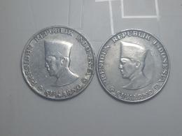President Sukarno, 10 Sen 1962 West Irian And Riau - Indonesia