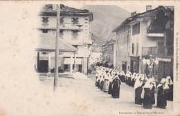 12P - 73 - Bourg Saint Maurice - Savoie - Procession - Bourg Saint Maurice