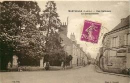MANTHELAN  Rue Nationale  La Gendarmerie - France