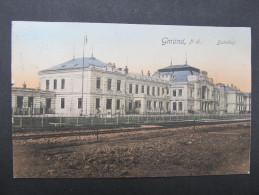 AK GMÜND Bahnhof Ca.1910 // D*21071 - Gmünd