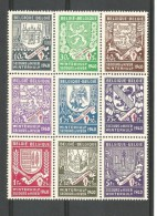 België  N° 547V  555V  Xx Postfris - Abarten Und Kuriositäten