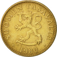 Finlande, 50 Penniä, 1980, TTB, Aluminum-Bronze, KM:48 - Finlande