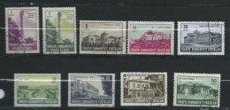 TURQUIE - N° 1638 à 1644 - O - 1921-... République