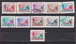 SYRIE - N°Y&T - Série 278A:86 - Les 11 Valeurs - Agriculture Et Industrie   - Tous Oblit - Syrie