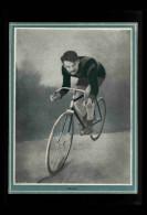 CYCLISME - VELO - Portrait De FRIOL Tiré D´une Revue De 1904 Et Collé Sur Feuille A4 - Vieux Papiers