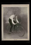 CYCLISME - VELO - Portrait De MULLER Tiré D´une Revue De 1904 Et Collé Sur Feuille A4 - Vieux Papiers