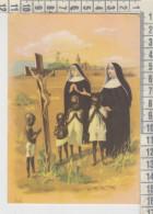 Missions Missioni Servi Di Maria Le Suore Invitano I Moretti A Pregare Gesù Crocifisso - Missioni