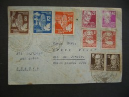 GERMANY (DDR) - Rochlitz SENT LETTER TO BRAZIL, AS - Lettres