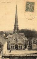 68Cci    27 Dangu L'église Cpa Toilée - Dangu