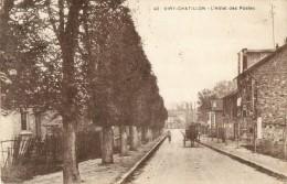 91 VIRY CHATILLON  - L HOTEL DES POSTES ( ATTELAGE ) - Viry-Châtillon