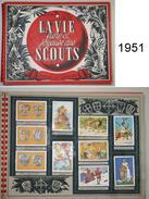Album Collecteur Images Vignettes - Chocolat SUCHARD - Scouts - 1951 - JOUBERT - Complet - Suchard