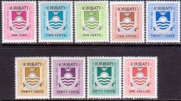 KIRIBATI 1981 SG #D1-D9 Compl.set MLH Postage Due - Kiribati (1979-...)