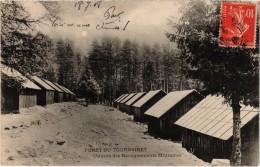 Forêt Du TOURNAIRET (06) Un Coin Des Baraquements Militaires - Belle Carte Postée - France