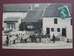 CPA 70 ARC LES GRAY Caserne Férey Cantine Et Locaux Disciplinaires  1908 TOP ANIMEE MILITAIRES UNIFORMES VELOS - Altri Comuni