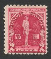 United States, 2 C. 1930, Sc # 688, Mi # 329, MH - Etats-Unis