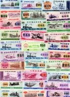 CHINE : Lot De 30 Coupons Des Années 80/90 (unc) - Chine