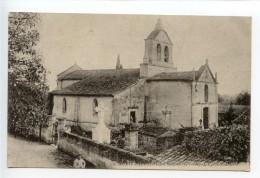 Aubie Espessas Par Salignac L'église Saint Martin