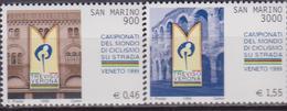 SAN MARINO 1999 SPORT CICLISMO CYCLING 1675/76 MNH - Ciclismo