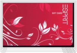 CE0384   CARTE CADEAU   SUISSE   ESPRIT - Gift Cards