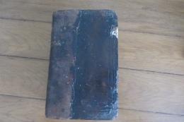 Bible Ancienne Avec Le Nouveau Et L'Ancien Testament 1730 Martin Luther  Protestantisme - Libri, Riviste, Fumetti