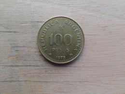 Argentine  100  Pesos  1978  Km 82 - Argentina