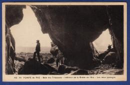 29 CLEDEN-CAP-SIZUN Baie Des Trépassés, Intérieur De La Grotte De L'Est, Les Deux Passages - Animée - Cléden-Cap-Sizun