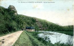 N°266 F -cpa Saint Martin Des Besaces -la Roche Saint Ortaire- - Andere Gemeenten