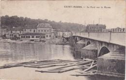 CPA SAINT MIHIEL LE PONT SUR LA MEUSE - Saint Mihiel