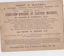 LONDON CARTE DE CORRESPONDANCE ROBERT BLACKWELL - Postal Services