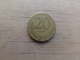 Albanie  20 Leke  1996  Km 78 - Albanie