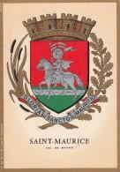 94 - SAINT MAURICE - Voeux Du Maire Pour L' Année 1974 - Programs