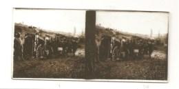 Guerre 1914-1918 Plaque De Verre Stéréo N°2036 CURLU Cuisiniers (SOMME ) - Diapositivas De Vidrio