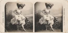 Cabaret Dancer - Stereoscopic Photo - 175x90mm - Photos Stéréoscopiques