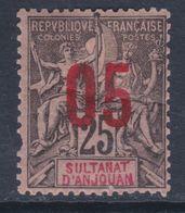 Anjouan N° 24 X   Type Groupe Surchargé : 05 Sur 25 C. Trace De Charnière Sinon  TB
