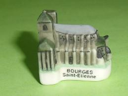 """Fèves / Pays / Régions : Cathédrale Saint-étienne De Bourges  """" Mat """"  T10 - Países"""