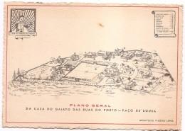 PLANO GERAL DA CASA DO GAIATO DAS RUAS DO PORTO -PAÇO DE SOUSA - Portugal
