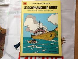 BD Tif Et Tondu - Tome 21 - Le Scaphandrier Mort - Will (1986) - Tif Et Tondu