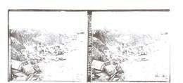 Guerre 1914-1918 Plaque De Verre Stéréo N°309 Prise De Courcelles - Diapositivas De Vidrio