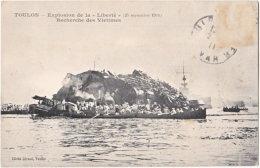 83. TOULON. Explosion De La Liberté (25 Septembre 1911). Recherche Des Victimes. - Toulon
