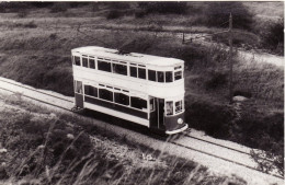 Tram Photo Blackpool Corporation Transport Standard Car 49 Crich 1965 Tramcar - Trains