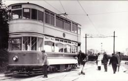 Tram Photo Blackpool Corporation Transport Standard Car 49 Crich 1968 Tramcar - Trains