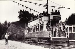 Tram Photo Blackpool Corporation Transport Dreadnought 59 Crich 1968 Tramcar - Trains