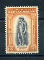 1935 SAN MARINO N.204 * - San Marino