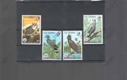 GAMBIA Nº 372 AL 375 - W.W.F.