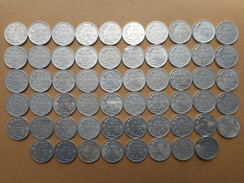 Luxembourg 25  Centimes 1954-1972 (Lot Of 58 Coins) - Luxembourg