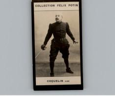 Collection FELIX POTIN - Petite Image - COQUELIN - Artiste - - Félix Potin