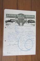 Facture   Nyffeler Seiler Solothurn Des Années 20 - Deutschland